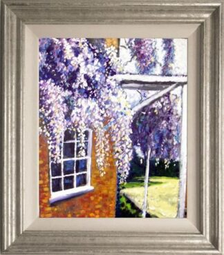 Wonderful Wisteria by Timmy Mallett Framed