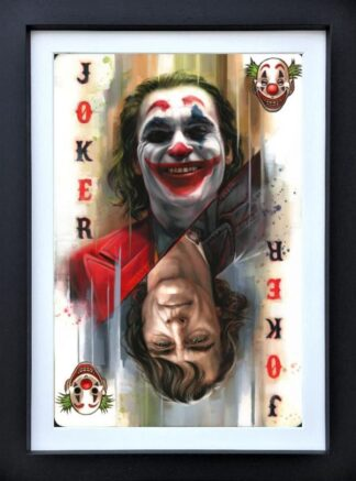 joker ben jeffery framed