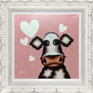 little moo ori caroline shotton framed