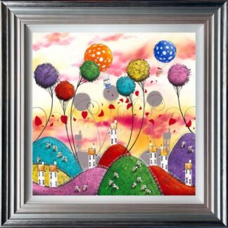 moo clouds by dale bowen framed