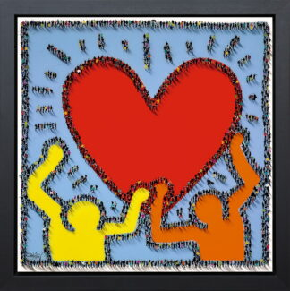 Share the Love by Craig Alan Framed