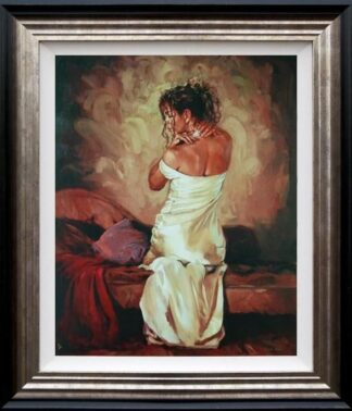 satin and pearls ii mark spain framed