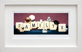 Family Doug Hyde framed