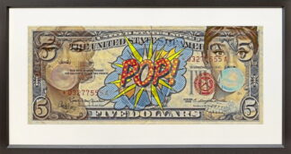 Five_Dollars by onelife183 framed