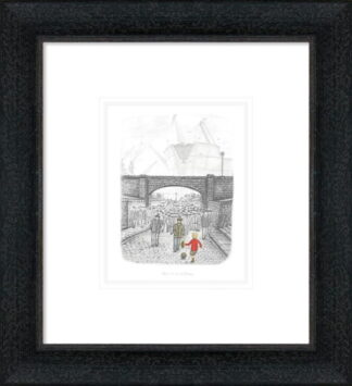 One in a million by Leigh Lambert Sketch Framed