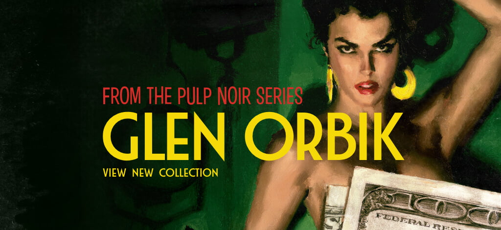 Glen Orbik | The Pulp Noir Series