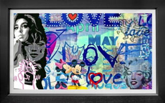 love_canvas by onelife183 framed