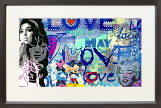 love_paper by onelife183 framed