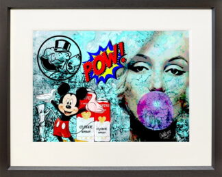 pow_paper framed by onelife183