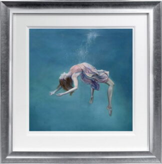 repose by steven bye framed paper
