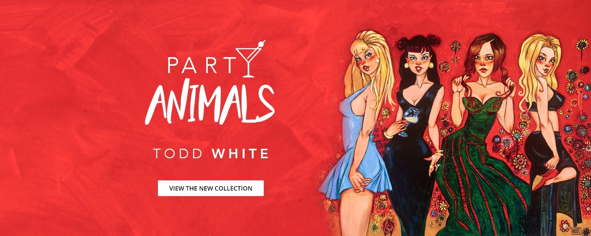 Party Animals – the latest collection by Todd White