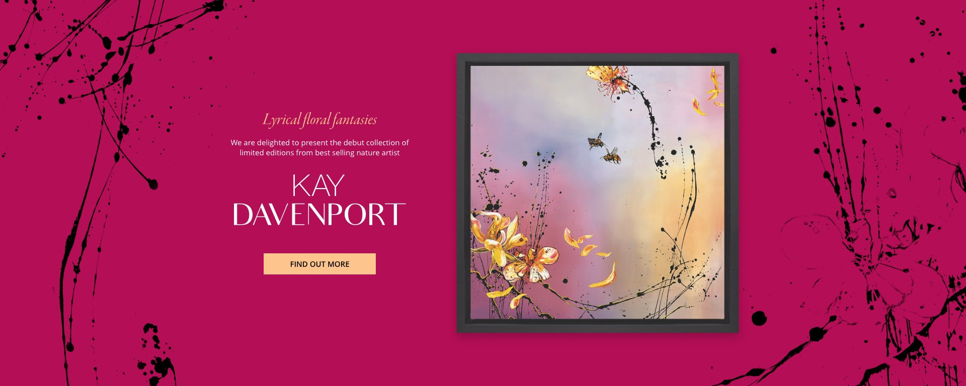 Kay Davenport's Debut Collection – Lyrical Floral Fantasies