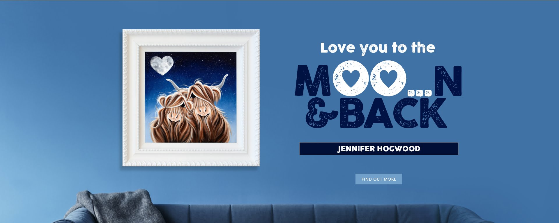 Love You To The Moo-n and Back! An Exciting New Release from Jennifer Hogwood.