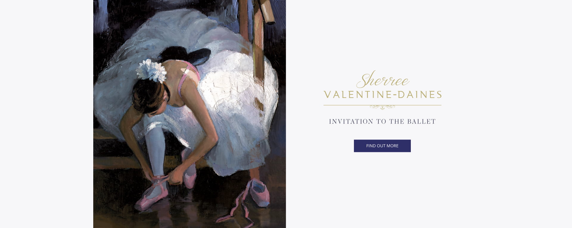 An Invitation to the Ballet – The Latest Collection from Sherree Valentine-Daines