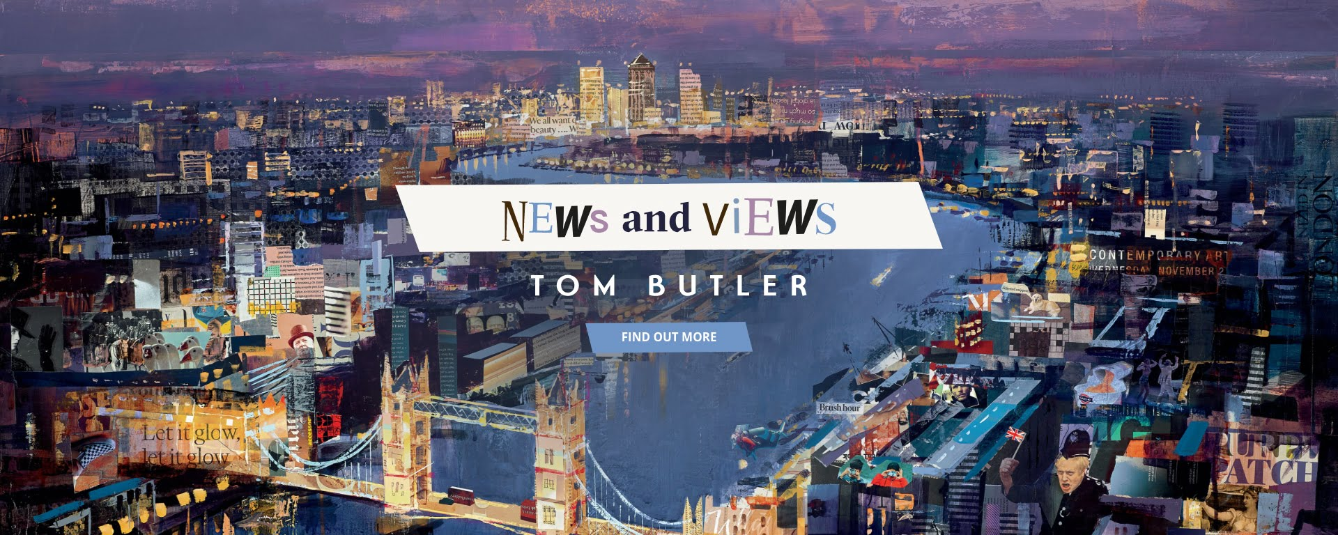 'News and Views' – The Fantastic New Collection by Tom Butler!