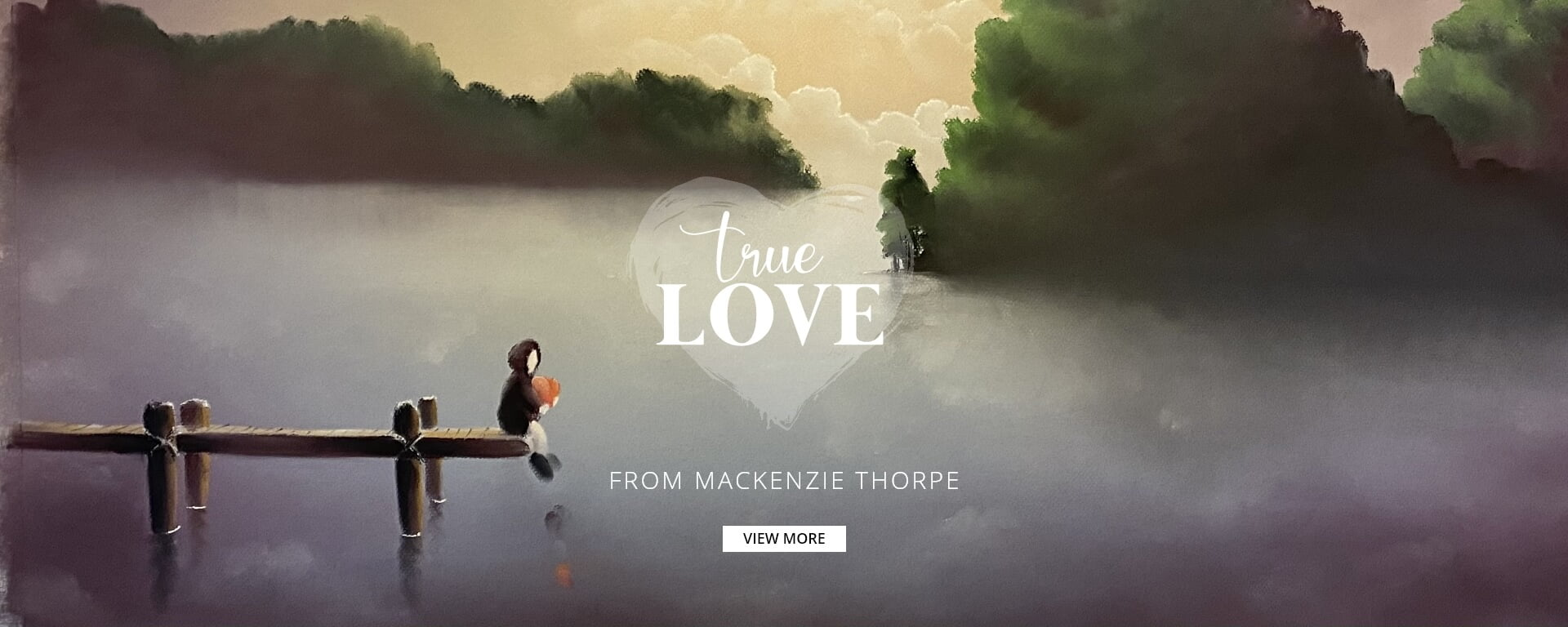 An Uplifting New Release from Mackenzie Thorpe – 'True Love'.