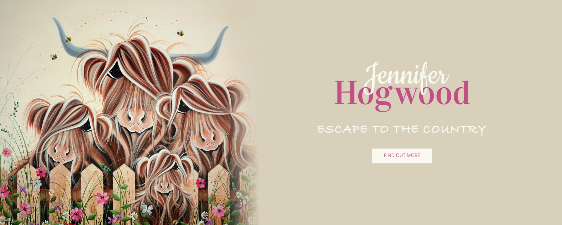 'Escape to the Country' by Jennifer Hogwood