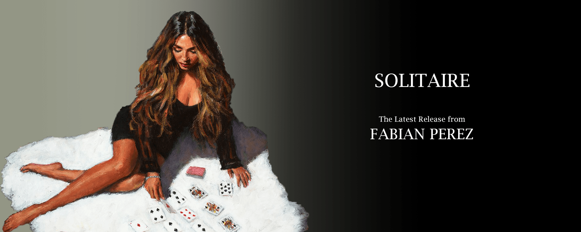 Introducing 'Solitaire' by Fabian Perez