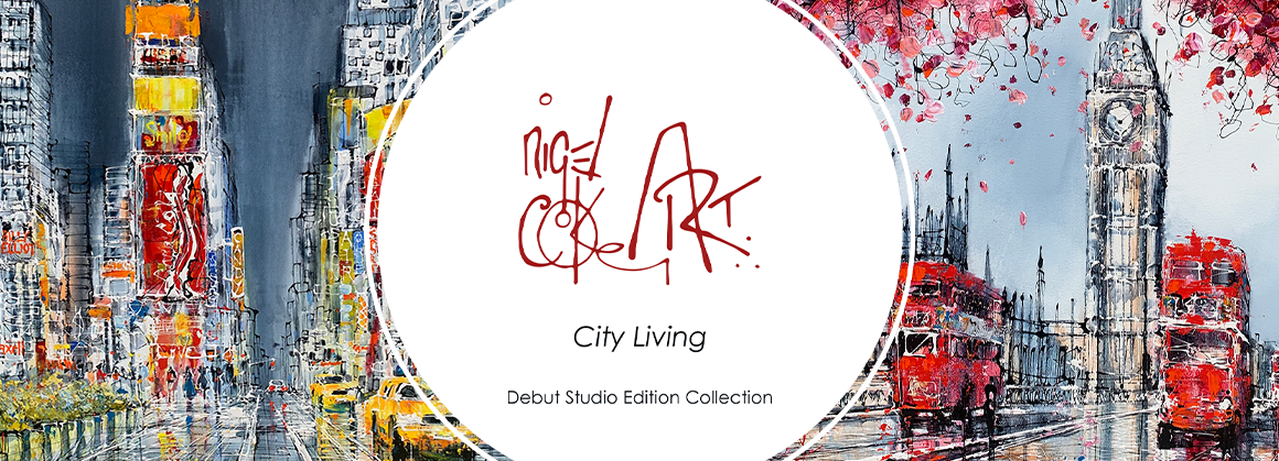 Introducing the Debut Collection of Studio Edition's by Nigel Cooke
